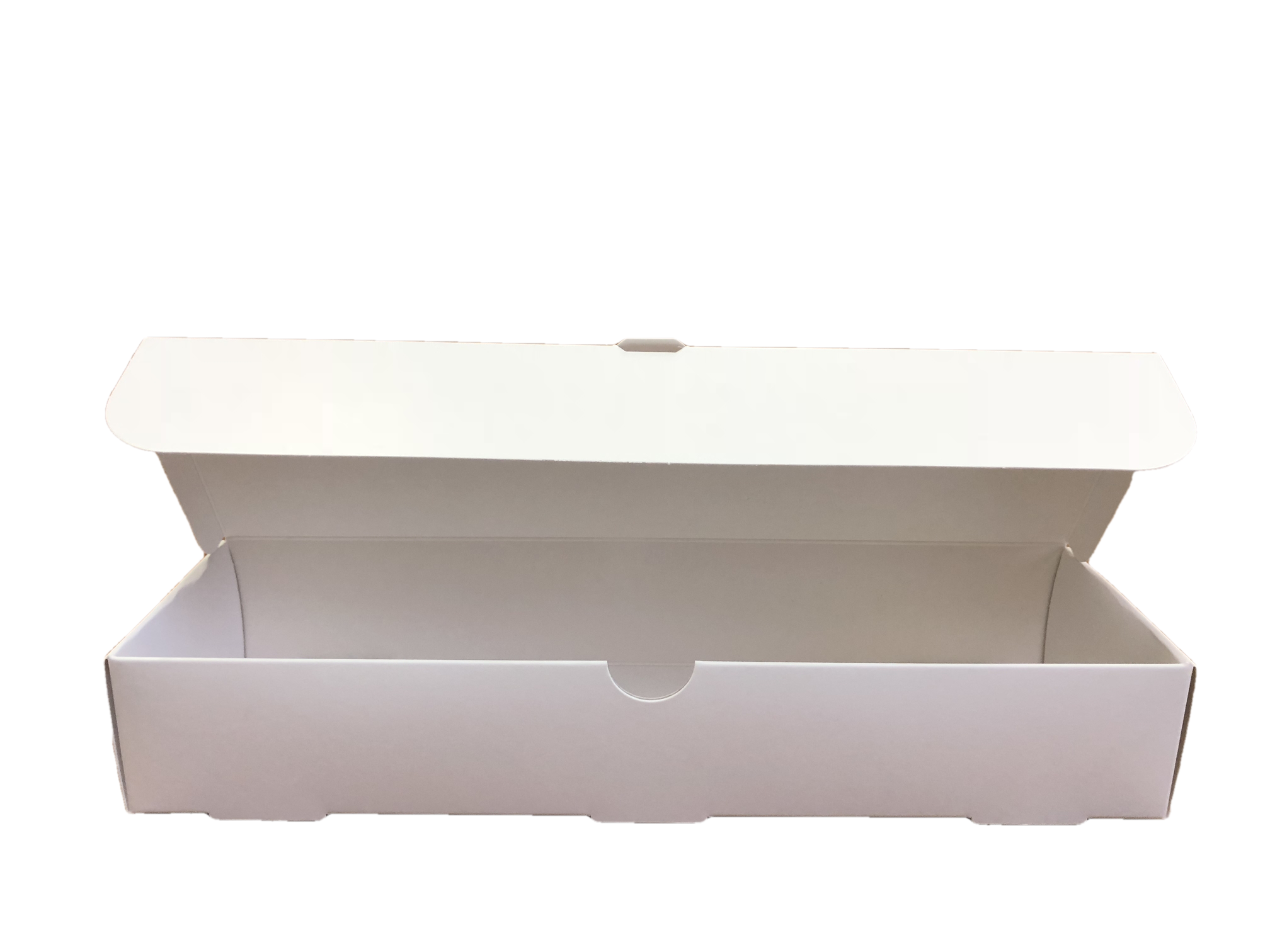 order your business card boxes either plain white on white or fancy them up a little with your logo phone number etc using foil stamping on the lid - Business Card Box