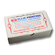 2 Color Foil Business Card Box