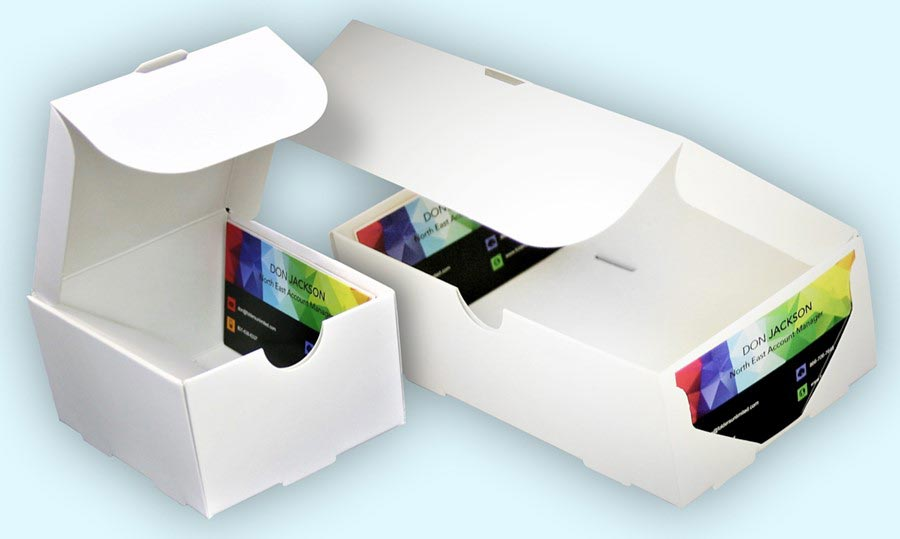 Business Card Boxes - Folders Unlimited