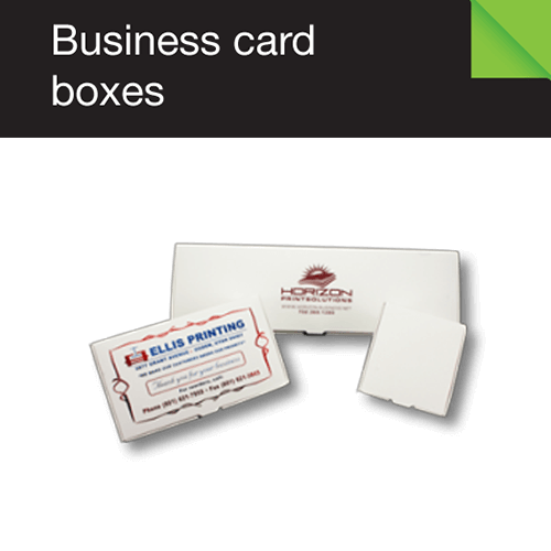 Business Card Boxes Folders Unlimited