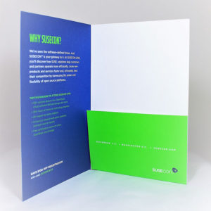 6x9 Mini Presentation Folder with One Pocket