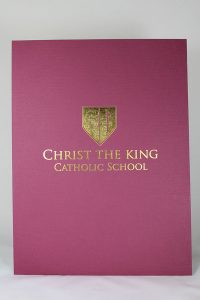 Burgundy Linen Folder with Gold Foil Stamping.jpg