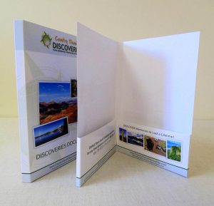 6x9 Double Capacity mini pocket folder